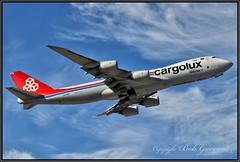 "LX-VCH Cargolux Airlines International ""Powered by Panalpina"" (Bob Garrard) Tags: lxvch cargolux airlines international powered by panalpina boeing 747 anc panc"