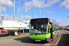 Shotley Marina (Chris Baines) Tags: ipswich buses optare versa yk03 epc shotley marina 97 service