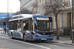 Go North East 9080 / LJ68 CYO (TEN6083) Tags: newcastle claytonstreetwest enviro200mmc alexanderdennis d9ur byd lj68cyo 9080 gonortheast transport buses publictransport bus nebuses
