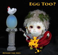 Coming soon! (bentwhisker) Tags: doll bjd resin anthro egg soom neoangelregion humptydumpty caesar idesofmarch 6139