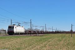 SI E.483.026. Grisignano di Zocco (Ivan Furlanis) Tags: treno train zug ferrovia bahn eisenbahn rail railway railroad italia italy italien veneto