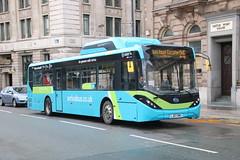 Arriva Merseyside 7006 (LJ67 DMU) (SelmerOrSelnec) Tags: arrivamerseyside byd d9ur alexanderdennis enviro200 mmc lj67dmu electric liverpool jamesstreet bus