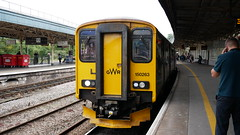 Bristol Temple Meads (Oz_97) Tags: 150263 greatwesternrailway bristoltemplemeads