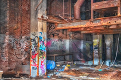 _2019-03-13 ABANDONED INTERIOR BUILDING 9-_D85_5273- (Bonnie Forman-Franco) Tags: abandoned abandonedphotography abandonedphoto abandonedbuilding abandonedbuildings abandonedyard abandonedfreightline aurorahdr2019 hdr hdrphotography photoladybon graffiti graffitiinabandonedbuildings urbandecay urbex urbexphotography nikon nikonphotography nikond850 nikkor2470mm