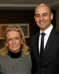 Rep. Debbie Dingell and David Kurzmann