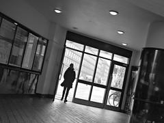 Langgade (saxild) Tags: mamiya 645 super sekor 80mm 80mm28 ilford hp5 120 mediumformat film analog epson v600 scanner negativ bw black white silhuette langgade valby cph copenhagen denamrk street streetphotography