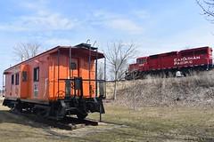 Horn Show (R.G. Five) Tags: sabula caboose candian pacific train railroad 2308 4406 8620 ia