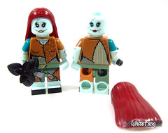 All rounded view (front & back view) - removal of hairpiece (WhiteFang (Eurobricks)) Tags: lego minifigures cmfs collectable walt disney mickey characters licensed design personality animated animation movies blockbuster cartoon fiction story fairytale series magic magical theme park medieval stories soundtrack vault franchise review ancient god mythical town city costume space