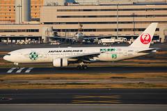 Japan Airlines Boeing 777-246 JA8984 (Mark Harris photography) Tags: spotting hnd haneda japan jpn plane canon aviation