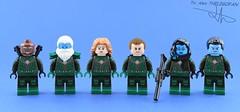 Marvel minifigs #17 : The starforce (made by Mr Lego Customs)😄 (Alex THELEGOFAN) Tags: minifigure minifigures minifig minifigurine minifigs minifigurines movie marvel captain avengers lego legography super heroes kree starforce