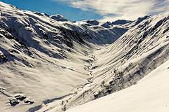 white valley (diamir8000) Tags: landscape gargellen austria winter white snow cold valley geotagged ski skitour