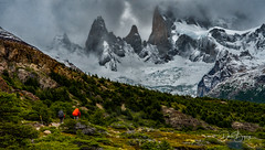 Hike to Fitz Roy (Doreen Bequary) Tags: fitzroy hike patagonia argentina elchalten mountain glacier d500