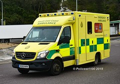 Secamb MB Sprinter 519 RE18 NHN 1299 MRA (policest1100) Tags: secamb mb sprinter 519 re18 nhn 1299 mra