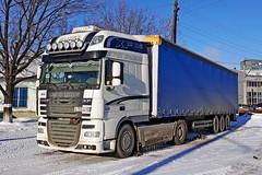 DAF FT XF105.460  Е 105 ОХ 43 ( RUS) (zauralec) Tags: daf ft xf105460 е 105 ох 43 rus город курган автомобиль автопоезд грузовик депо kurgan areawagonrepaircompanyrmc3 вапонное врк3