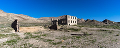 Rhyolite, Nevada, USA (Tasmanian58) Tags: vintage ghost mine gold copper zinc nevada death valley urbex ruin landscape panorama batis 18mm 2818 zeiss sony a7ii