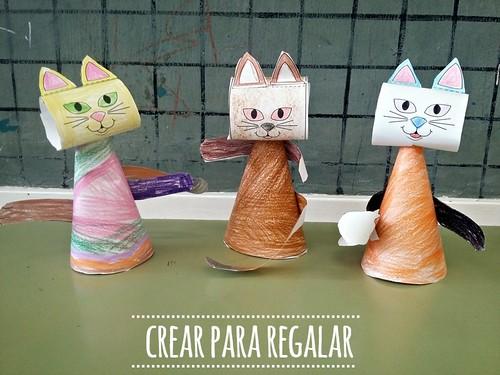 Gatos Manualidades Para Hacer Con Los Ninos A Photo On Flickriver