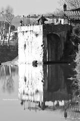 Old Mill on the Arno (RoyBatty83) Tags: pentax pentaxk5 k5 pentaxiani sportivo 55300 dahd55300wr pentaxdahd55300mmf458edwr arno river waterreflexes watermirroring mirror flow firenze tuscany toscana blackandwhite bw biancoenero bn blackwhite monocromo monocrome