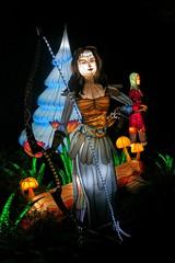 Wonder Woman? (Viejito) Tags: cne canadiannationalexhibition theex toronto ontario canada geotagged geo:lat=43635427 geo:lon=79411924 canon s100 canons100 powershot enercarecentre legendsofthesilkroad ddmentertainment lantern festival silk wire lights wonderwoman amazone enchantress cans2s galgadot metoo era equalrights thefutureisfemale tfif 嫦娥 后羿 中秋節 amazon diana ἄρτεμισ bow arrow