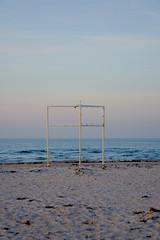 standing on the shoreline II (ericgrhs) Tags: sky sunset sonnenuntergang meer sea balticsea ostsee warnemünde rostock mecklenburgvorpommern küste shoreline beach strand
