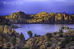 Watson Lake (Fotomanufaktur.lb) Tags: lake watson prescott az arizona schölkopf schoelkopf bluehour blauestunde see usa america