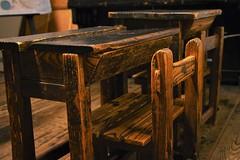 ✪最古の校舎の教室➁  重文 開智学校 -松本市- (haguronogoinkyo) Tags: nikon d610 japan 長野 松本 学校 重要文化財 小学校 教室 机 椅子 開智学校