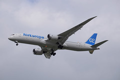 Air Europa B789 - EC-MSZ - landing in TLV (LLBG Spotter) Tags: b787 aircraft tlv airline aireuropa ecmsz llbg
