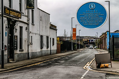 The Commercial (Andrew Shenton) Tags: aslef sweet street leeds commercial inn holbeck blue plaque