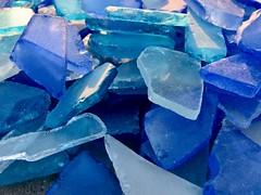 Blue Shade (Robert Cowlishaw (Mertonian)) Tags: melancholy texture shadesofblue backyardphotolab bypl edgy glass blueshades canonpowershotsx70hs sx70hs powershot canon robertcowlishaw mertonian concrete cement evening