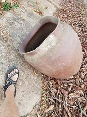 Stone jar 3 (SierraSunrise) Tags: thailand phonphisai nongkhai isaan esarn jar clay pot