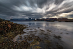- in motion - (verbildert) Tags: scotland sunset autumn isle skye seascape longexposure nikon d800 hebrides highland isleofskye cuillin