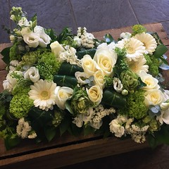 A wonderful green and cream pillow designed for a recent funeral by Parsley and Sage. . . #parsleyandsageflorist #stokeontrentflorist #flowers #flowerstagram #floraldesign #flower_daily #florals #flowergram #flowerdesign #flower_beauties_ #flowerpower:che (parsleyandsage11) Tags: flowers flowerstagram floraldesign flowerpower shoplocal flowerdaily florals flowergram flowerdesign inspiredbypetals supportsmallbusiness flowerbeauties flowerssuperpics parsleyandsageflorist instapic floralperfection stokeontrentflorist