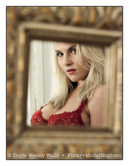 Marketa, Reflected in the Bathroom Mirror in My Hotel Room (Doyle Wesley Walls) Tags: mp woman girl female beautiful femme donna elegant sexy séduisant seksowny seductor sexig sexet сексапильный σεξουαλικόσ seksikäs seductive sensual breasts brüste borsten seins seni 胸 pechos грудь prsa piersi tetas nichons busty tetona rondborstige prsatá грудастая vollbusig retrato ritratto porträt portret blonde rubia blondine blondin blondýnka feminine portrait photograph shirtless voluptuous desirable bra brassiere chest bosom buxom face eyes lips marketa doylewesleywalls 0094 mirror reflection red cara faccia tvář ansigt gezicht gesicht fotografie cleavage