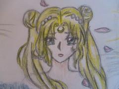 Serena (jasakhan10) Tags: serena art drawing manga anime prismacolors shading pencil sailormoon