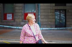 "Itxaso Atutxa at Human Chain by ""Gure Esku Dago"" (Iker Merodio | Photography) Tags: itxaso atutxa gure esku dago human chain giza kate bilbao bizkaia biscay euskadi basque country pentax k50 sigma 30mm art"