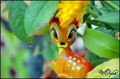 Bambi ~02 (Orphen 5) Tags: disney bambi disneybambi disneybambifigurine bambifigurine flower bambiphotoclip bambifigurineprimark bambiprimark primark london tumblr cute