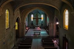 Untitled (ska.84) Tags: canon canon70d 70d italia italy lombardia chiesa church abbandonato abandoned archeologia urbana urban archeology urbex blu blue