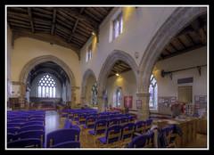 South Arcade (veggiesosage) Tags: stmaryschurch eastleake church historicchurch nottinghamshire normanchurch gx20 grade1listed hdr aficionados