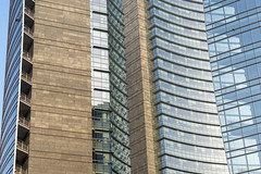 Modern buildings in Gae Aulenti square, Milan (clodio61) Tags: europe gaeaulenti italy lombardy milan architecture building city cityscape color day exterior glass landmark modern outdoor palace park photography plant reflection square urban