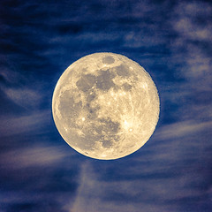 Full moon HDR (Frank Lammel) Tags: astro moon hdr fullmoon nature sky clouds astrophotography night