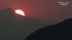 Sunset from Trento (Italy) (Marcello Consolo) Tags: