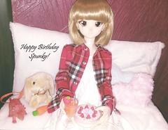 Happy Birthday Spunky! (Lurkz D) Tags: lurker spunky doll vinyl volks custom