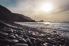 South/West (NVOXVII) Tags: cornwall stanbury morwenstow beach dusk pebbles coast kernow canon lowdown perspective cliffs rocks sea ocean