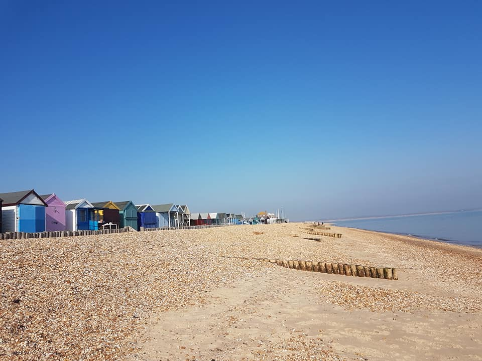 Beach at Calshot, Hampshire 6