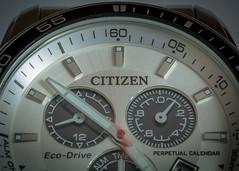 Watching the seconds pass (Dan Elms Photography) Tags: macro macromondays timepieces watch citizen time wristwatch danelms danelmsphotography wwwdanelmsphotouk