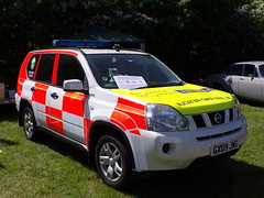 6283 - Surrey SAR - GX09 JVG - 101_1733 (Call the Cops 999) Tags: uk gb united kingdom great britain england 999 112 emergency service services vehicle vehicles surrey sar search and rescue brooklands museum open day bank holiday monday may 2018 7 7th