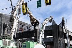 Scene from Alaskan Way Viaduct demolition (WSDOT) Tags: seattle gp construction wsdot alaskan way viaduct replacement demolition 2019