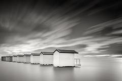 Osea, Essex (tobchasinglight) Tags: beachhuts eastcoast essex estuary longexposure maldon osea riverblackwater â©paulmitchell