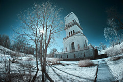 X-A1 2019-04-14 130 (linebrell) Tags: infrared 720nm outdoor 7artisans 75mm fisheye outdoors