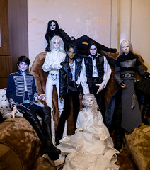 7 dollshe dolls at the New Year's table :) (lukoshka) Tags: bjd abjd bjdphoto dollphoto dollshe