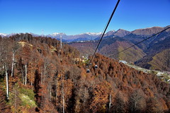 Подъем на Роза Пик (Oleg Nomad) Tags: сочи адлер роза пик плато горы осень небо лес sochi rosa mountains autumn forest sky travel